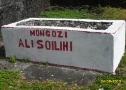 Tombe d'Ali Soilihi à Chouani