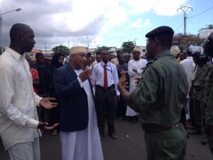 Ahmed Barwanne, ancien Ministre de l'Intérieur du Président Sambi