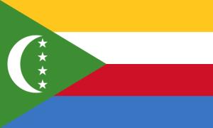 Le drapeau comorien