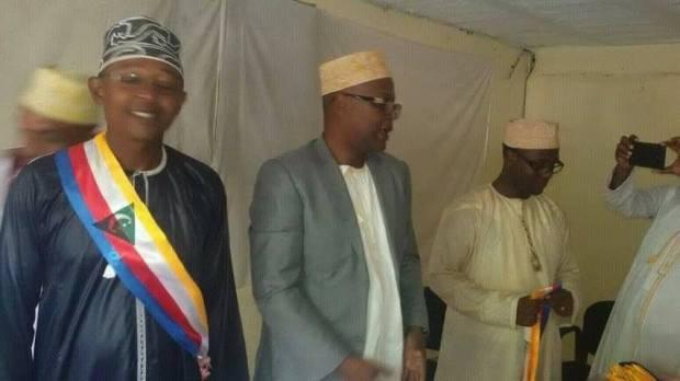 Un Maire de Ngazidja avec la nouvelle écharpe