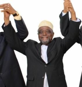 Mohamed Ali Soilihi (détail de l'affiche des présidentielles de 2010)